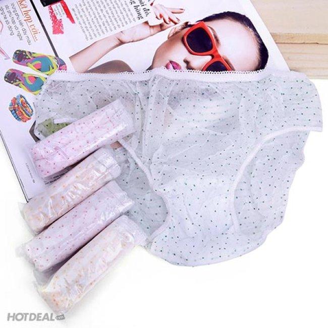 Combo 25 Quần Không Giặt (Mặc 1 Lần) Kachoo Baby 2 Size
