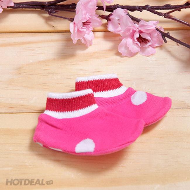 Combo 5 Đôi Giày Vải Cho Trẻ Sơ Sinh Zappy
