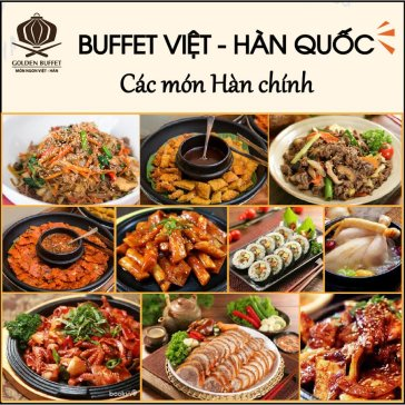 Buffet Tối Hàn Quốc Trên 60 Món Bao Gồm Thức Uống Tại Golden...