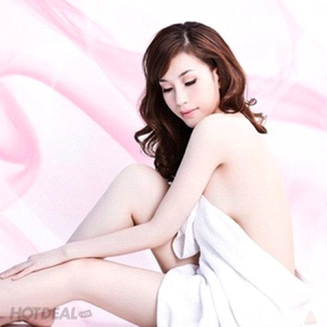 Trọn Gói 10 Lần Tắm Trắng Mịn Da (Cam Kết Trắng Sáng An Toàn)