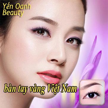 Điêu Khắc Lông Mày, Phun Xăm Thẩm Mỹ Bàn Tay Vàng Việt Nam -...