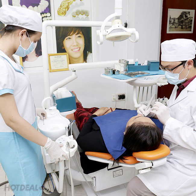 Răng Toàn Sứ Zirconia HT 100% Của Đức (Gồm Răng Tạm) – Bảo...