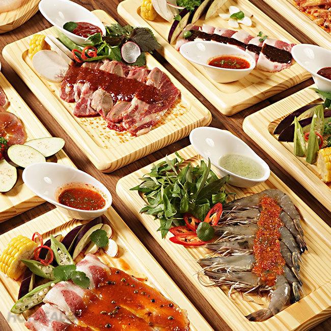 Buffet Tối Thịt Bò & Hải Sản Nướng Đẳng Cấp 5*, Free Buffet...
