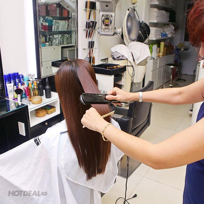 Hair Salon Vy - Trọn Gói Làm Tóc Cao Cấp Bằng L'Oreal - Tặng Hấp...