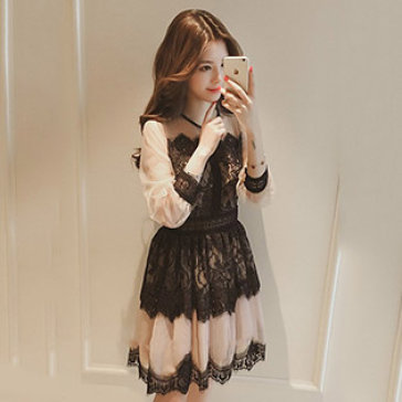 Đầm Ren Tầng Vintage