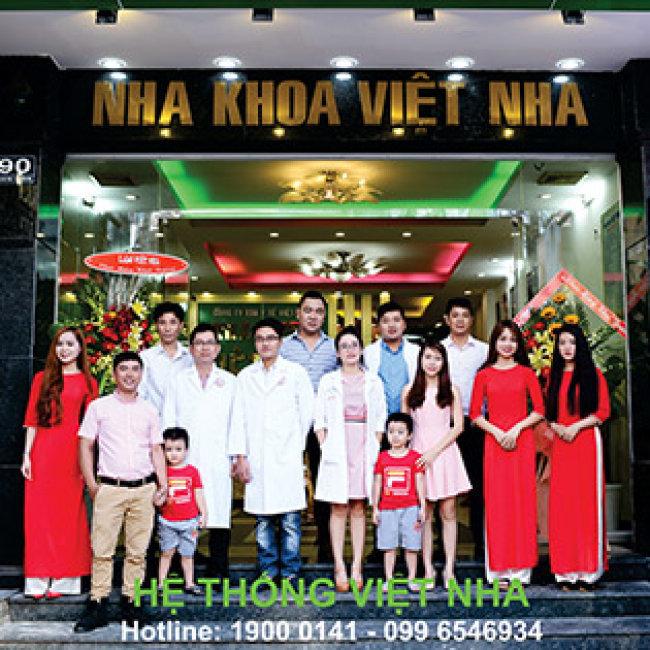 HT Nha Khoa Việt Nha - Răng Toàn Sứ Zirconia 100% Của Đức - BH 10...