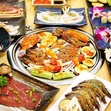 Buffet Trưa/Tối Lẩu Nhật Hàn, Hải Sản & Bò Mỹ Nướng - Sukiya...
