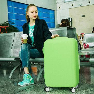 Túi Bọc Bảo Vệ Vali Thun Màu Co Giãn Giặt Được (Vali Size 21 - 25 Inch)