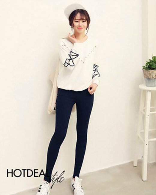 Quần Skinny Jeans Street Style