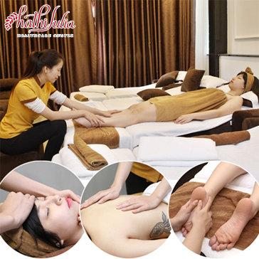 Massage Body + Bấm Huyệt + Đá Nóng Tinh Dầu Thuốc Lá Của Người...