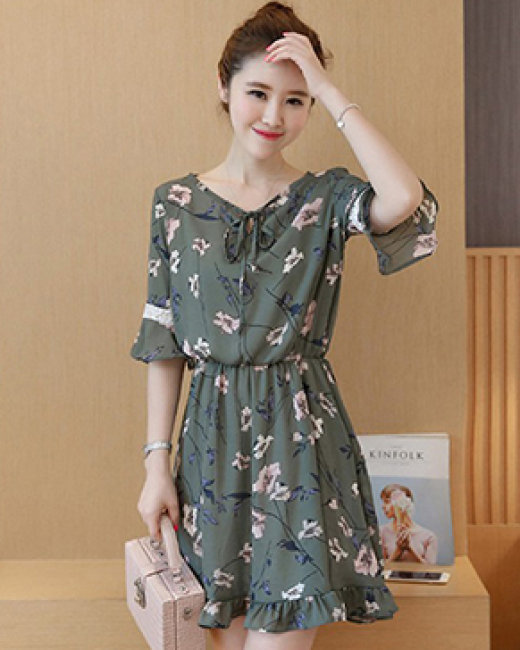 Đầm Tay Loe Princess