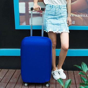 Túi Bọc Bảo Vệ Vali Thun Màu Co Giãn Giặt Được (Vali Size 26 – 32 Inche)