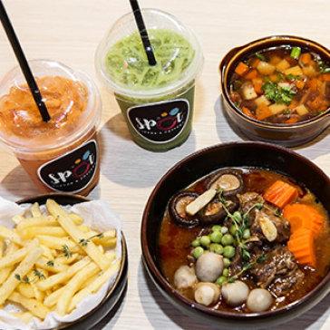 Combo Ragu Bò + Trà Sữa Thái Đặc Biệt Cho 2 Người Tại Nhà Hàng...