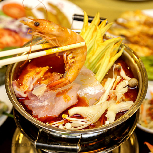 Buffet Tối Đệ Nhất Trên 60 Món Việt, Á, Âu, Lẩu + Miễn Phí...