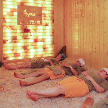 Xông Hơi Đá Muối Đẳng Cấp 5 Sao Kèm Massage Body Tại Spa Thảo