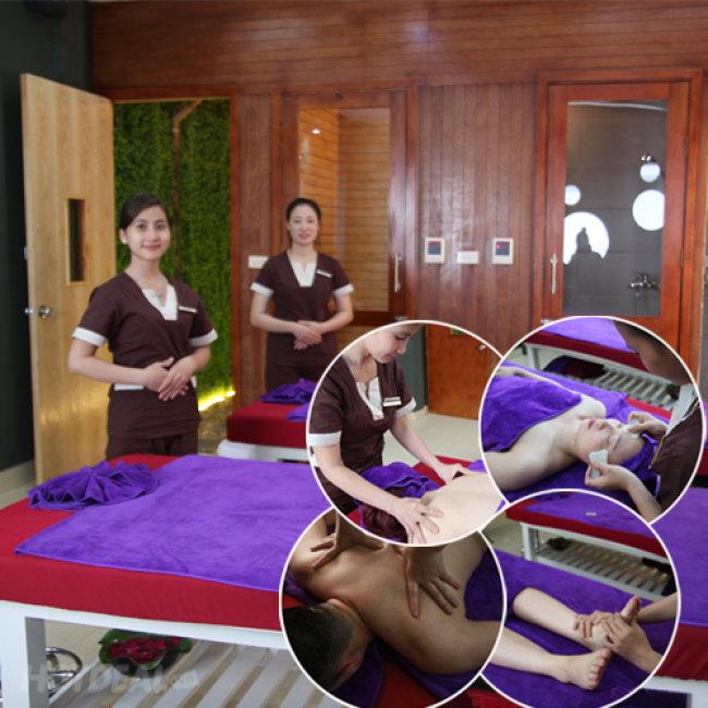 Massage Body Toàn Thân Tại Hamsa Spa