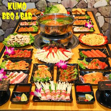 Buffet Nướng - Lẩu Tại Bàn Giá Sốc Chỉ Có Tại Kumo BBQ & Bar