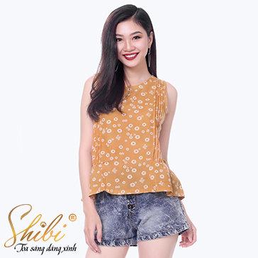 Áo Kiểu Ly Hoa Shibi SA006