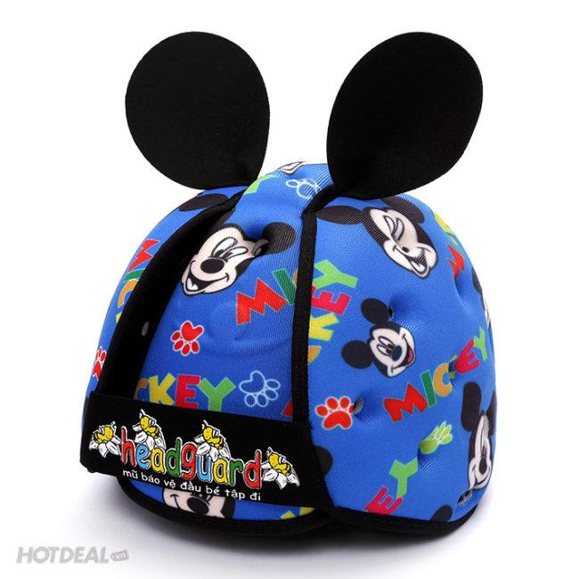 Nón Bảo Hiểm Cho Bé Mẫu Hoạt Hình (Disney, Mickey) - Headguard
