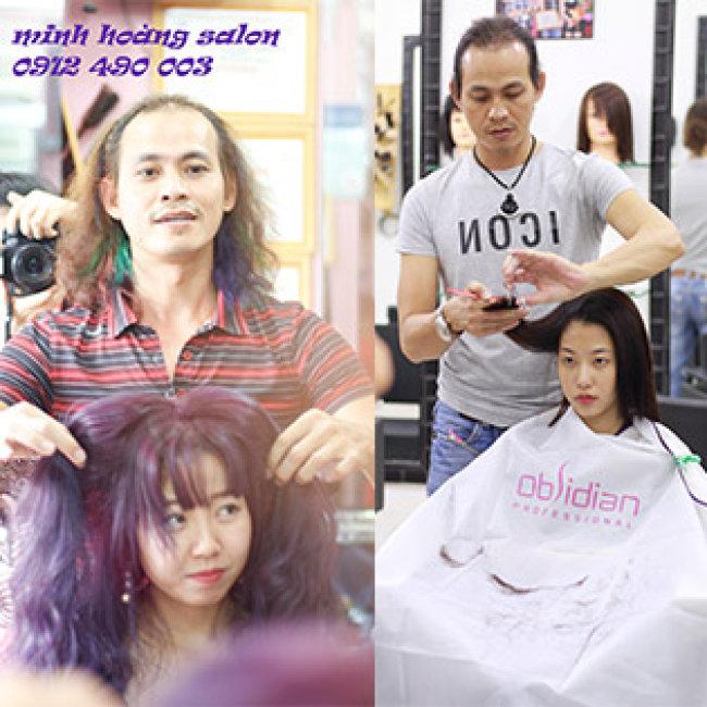 Salon Minh Hoàng -  Trọn Gói Tạo Mẫu/ Phục Hồi Tóc – Tặng 1...