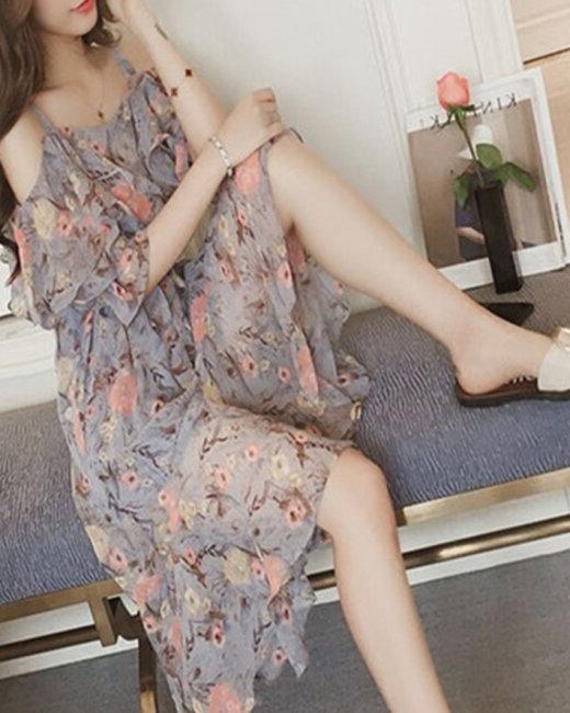 Đầm Hoa Mulet Xinh Xắn