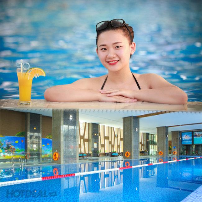 Lợi ích tuyệt vời với sức khỏe của sự kết hợp bơi lội và xông hơi