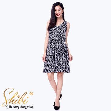 Đầm Dạo Phố Thời Trang Shibi SB097