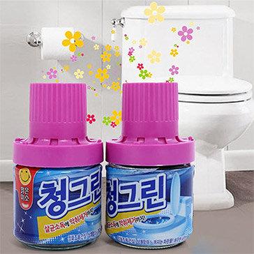 Combo 2 Chai Tẩy Bồn Cầu Hương Hoa Thơm Ngát Hàn Quốc