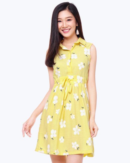 Đầm Somi Rút Eo Thời Trang