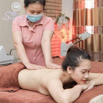 Massage Body Thư Giãn + Làm Trắng Da Mặt Tại Hà Lee Spa