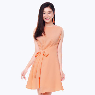 Đầm Tina Đắp Tà Xéo Fashion