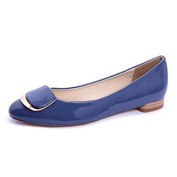 Giày Búp Bê Nẹp Kim Loại KT Fashion Shoes B25