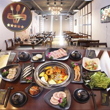Giá Sốc - Set Nướng 8 Món Dành Cho 2-3 Người Tại A1 Restaurant -...
