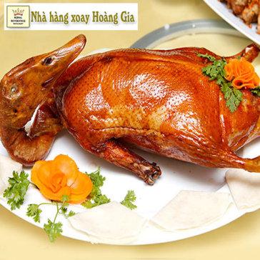 Nhà Hàng Xoay Hoàng Gia – Vịt Quay Bắc Kinh 4 – 6 Người Buổi...