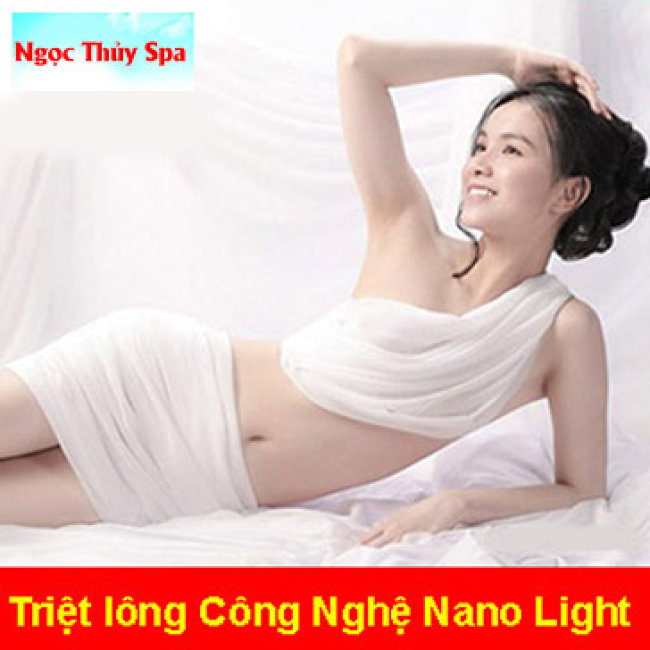 10 Lần Triệt Lông Vĩnh Viễn Nách/ Mép/ Body - Không Đau, Rát BH 2...