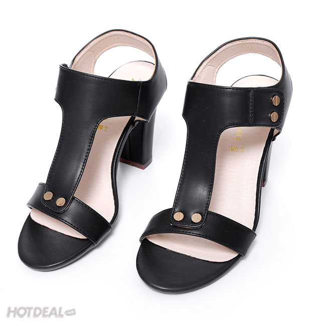 Giày Boot Hở Mũi Cá Tính KT Fashion Shoes L02