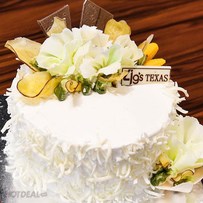 Bánh Kem Yogurt/ Bánh Kem Bắp/ Mousse (20cm x 7cm) – 4G's Texas