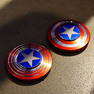 Con Quay Hand Spinner Captain America