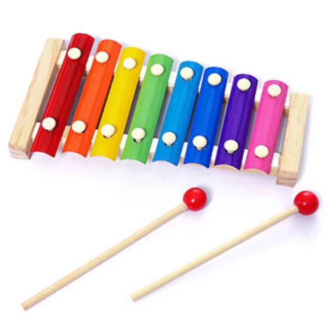 Đàn Gõ 8 Phím Xylophone Cho Bé Phát Triển Năng Khiếu Âm Nhạc