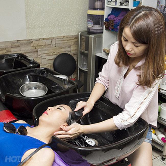 Trọn Gói Làm Tóc Chuẩn L'oreal + Tặng Thẻ Hấp - Salon Long Nguyễn