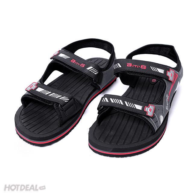 Giày Sandal Cho Nam DXM132455 Đen