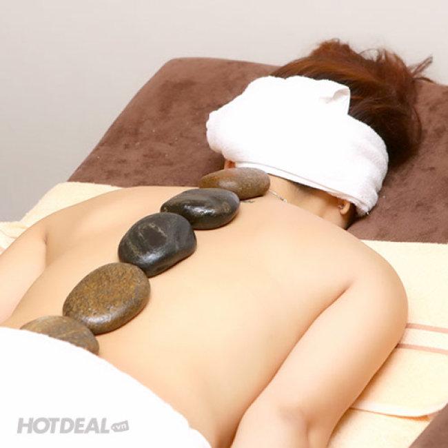 Hoa Sen Spa- Massage Foot + Body + Đá Nóng + Ngâm Chân Thuốc Bắc