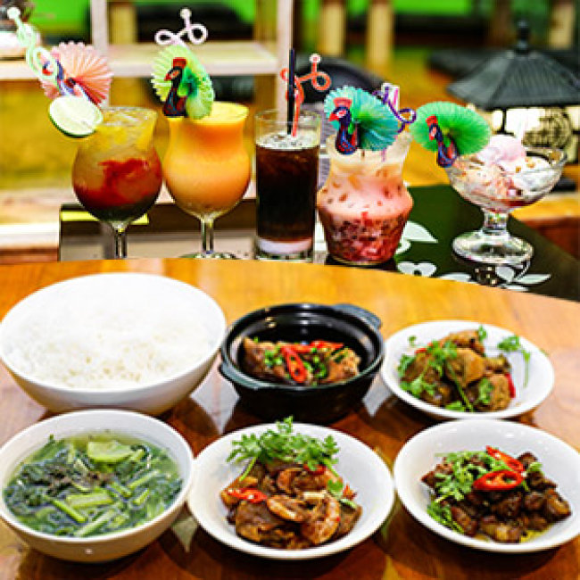 Thưởng Thức Toàn Menu Món Ăn Và Thức Uống Hương Vị Việt Tại...