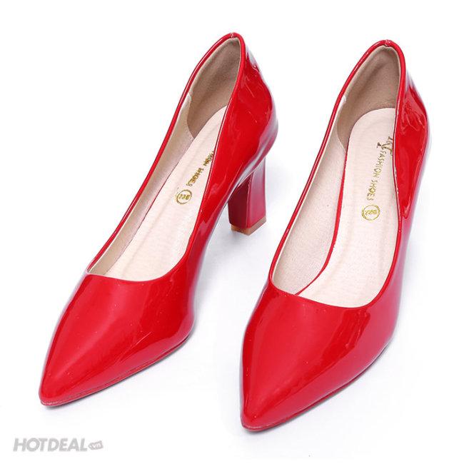 Giày Cao Gót Bít Mũi Duyên Dáng KT Fashion Shoes B22