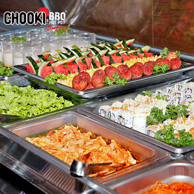 Hệ Thống Buffet Chooki BBQ & Hotpot Tặng Pepsi Uống Không Giới Hạn