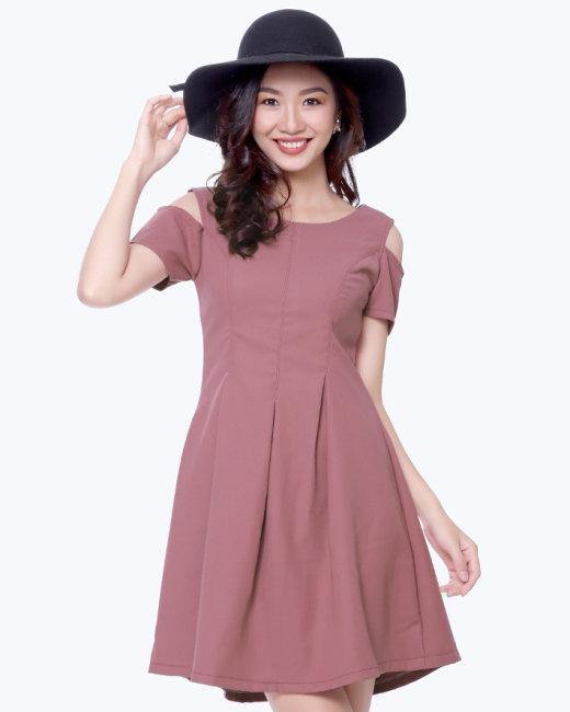 Đầm Cutout Ly Eo Thời Trang