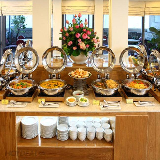 Buffet Chay Trưa Hơn 40 Món Tại Nhà Hàng Cỏ Nội - Bông Sen Hotel...