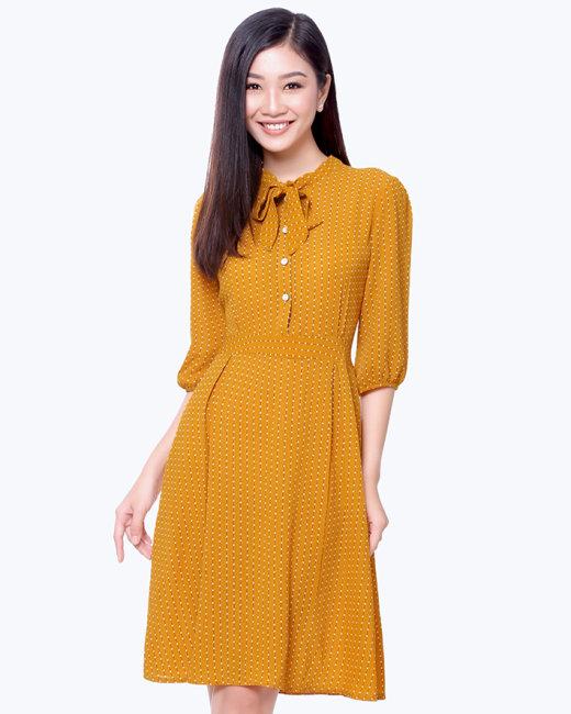 Đầm Vintage Sang Trọng - Thương Hiệu Vĩnh Phát