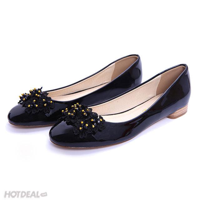Giày Búp Bê Hoa Dịu Dàng KT Fashion Shoes B28