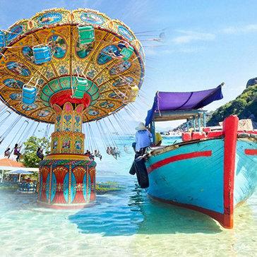 Tour Bình Ba Nha Trang 3N3Đ - Tiệc BBQ Tôm Hùm – Tham Quan 4 Đảo – Vinpearl Land